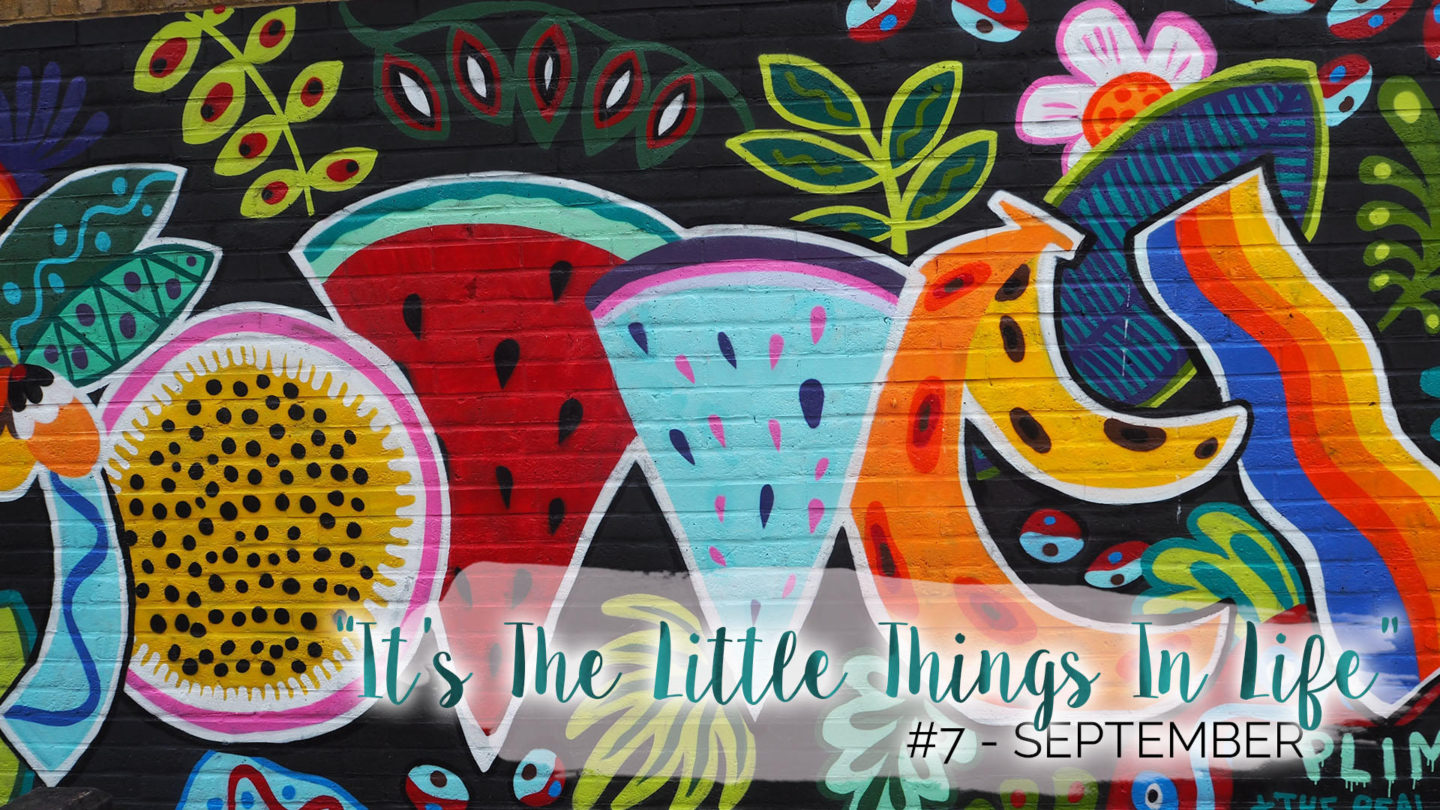 """""""It's The Little Things In Life"""" – 7 – September 