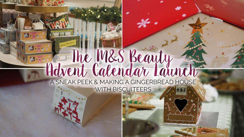 M&S Beauty Advent Calendar Launch - Plus A Sneak Peek    Beauty