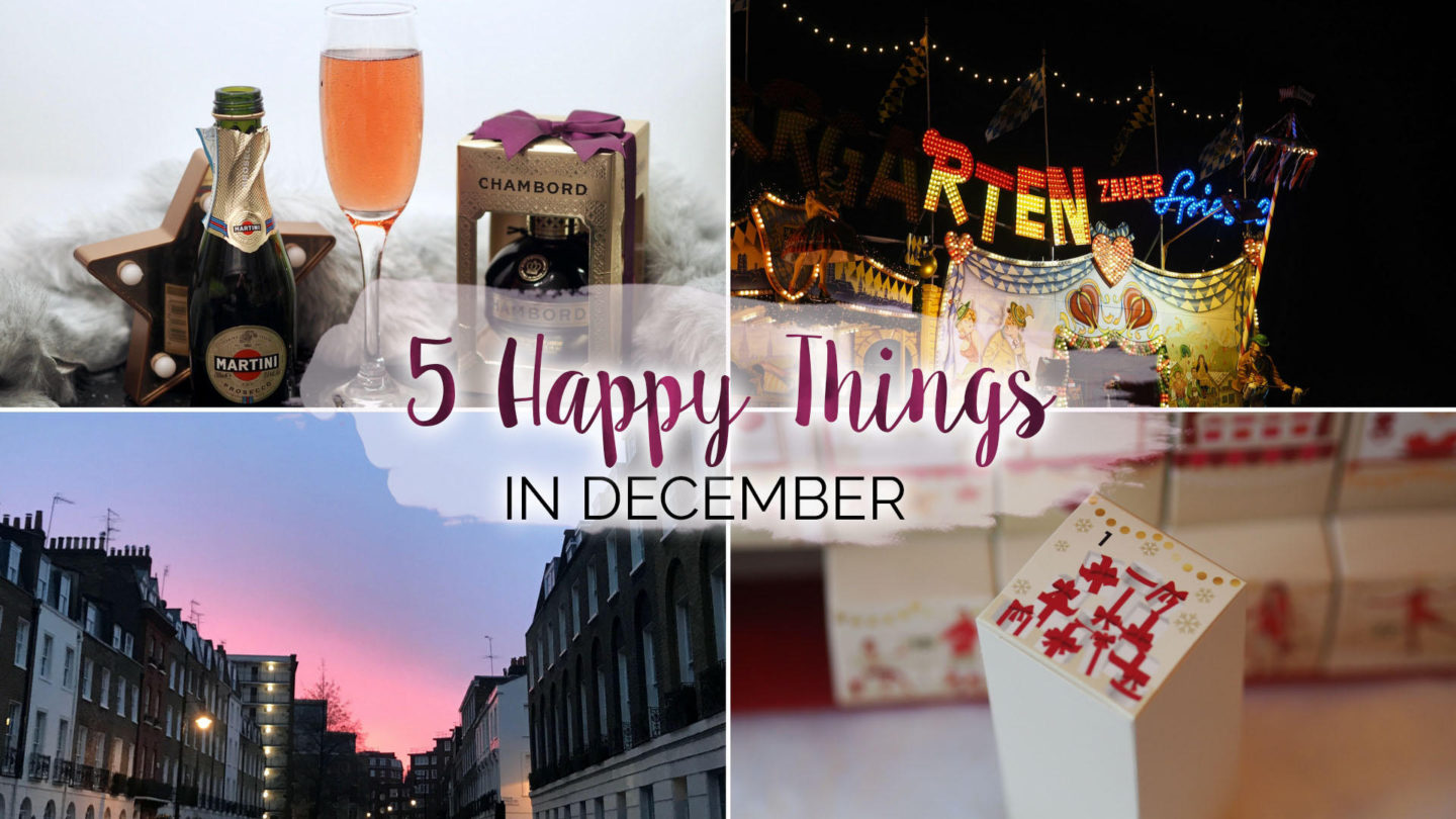 5 Happy Things - #16 - December    Life Lately