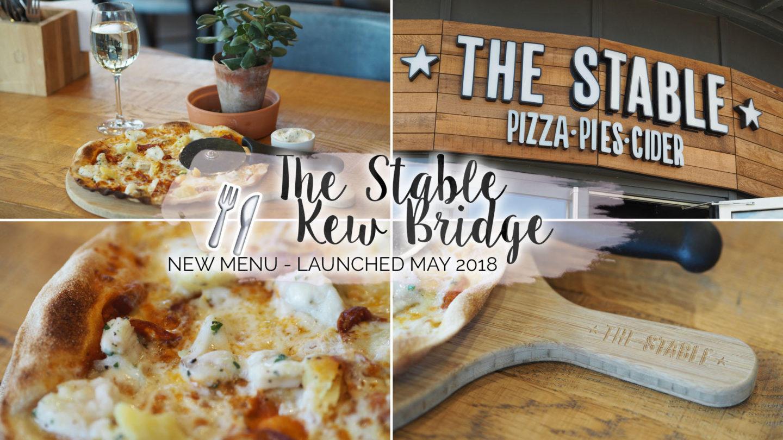The Stable, Kew Bridge - New Menu, May 2018    Food & Drink
