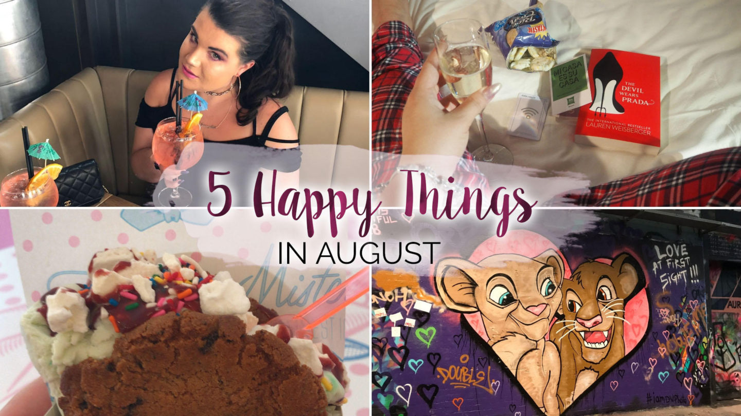 5 Happy Things - #24 - August    Life Lately