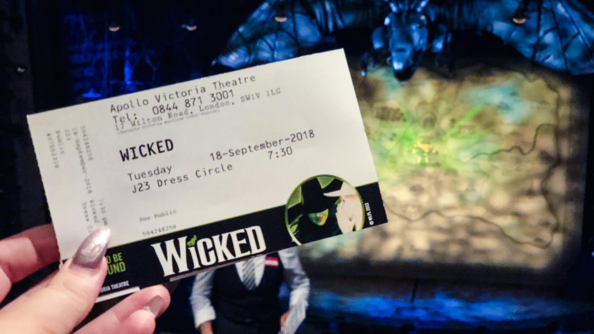 Wicked at the Apollo Victoria Theatre, Review    London
