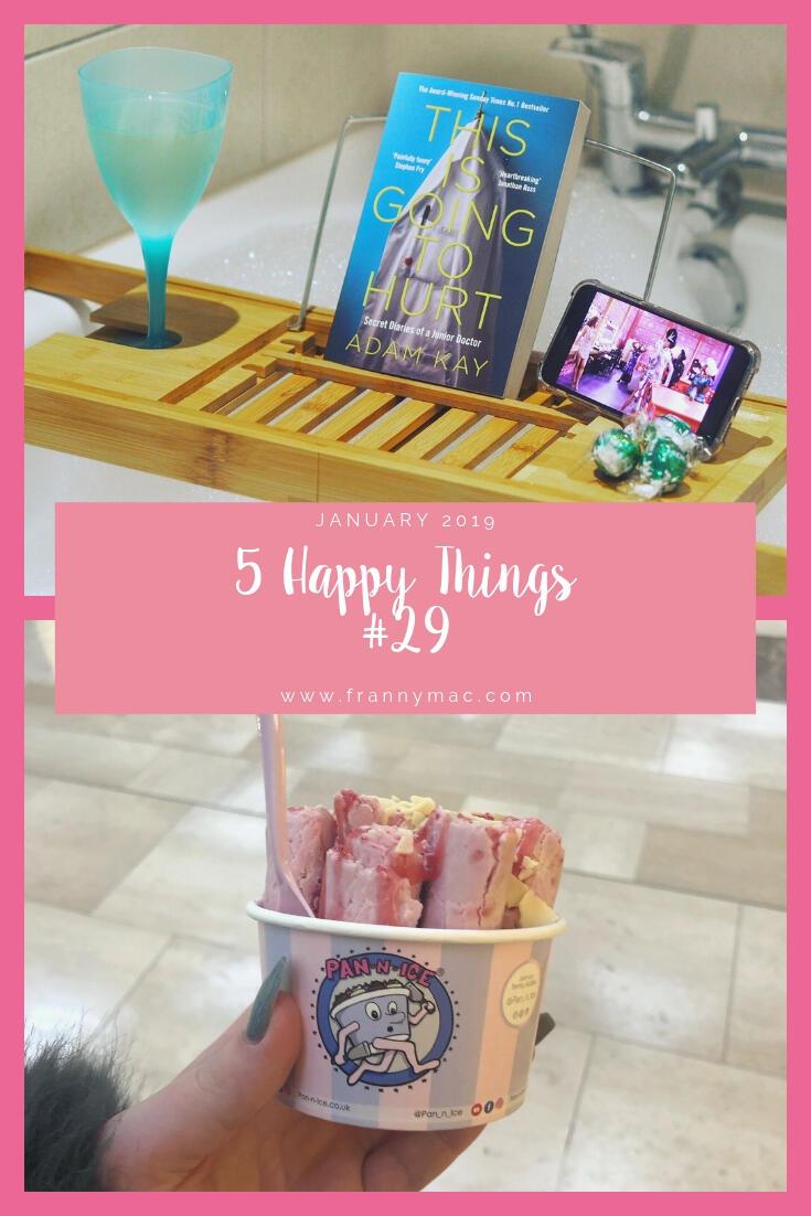 5 Happy Things – #29 – January    Life Lately