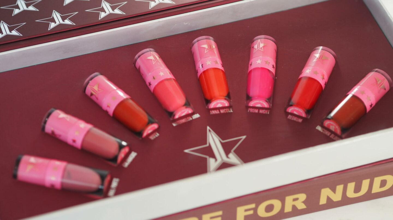 Jeffree Star Cosmetics Mini Reds & Pinks Lipstick Bundle    Beauty