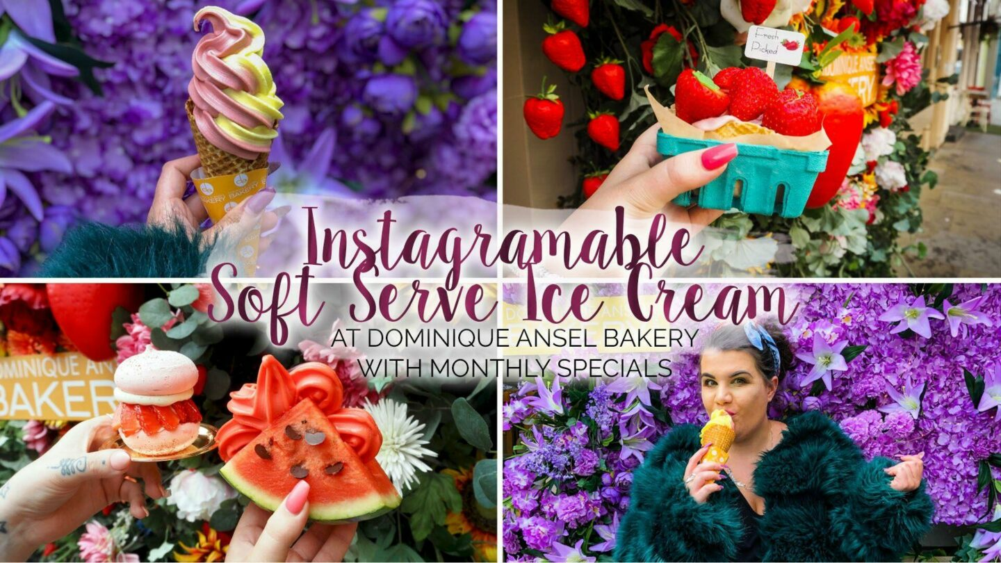 Instagramable Soft Serve Ice Cream at Dominique Ansel || London