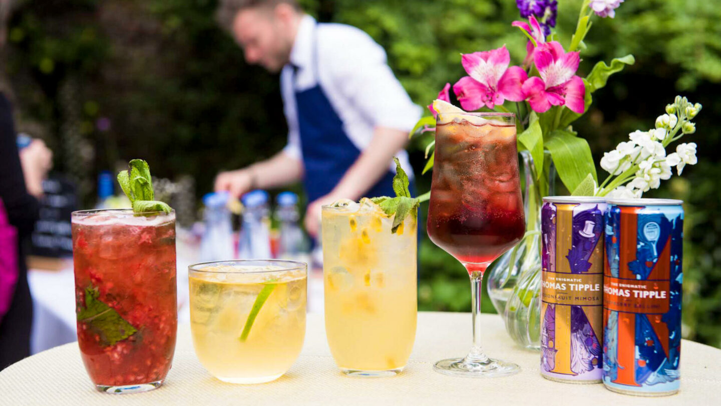 Thomas Tipple's Garden Party at The Charterhouse    Food & Drink