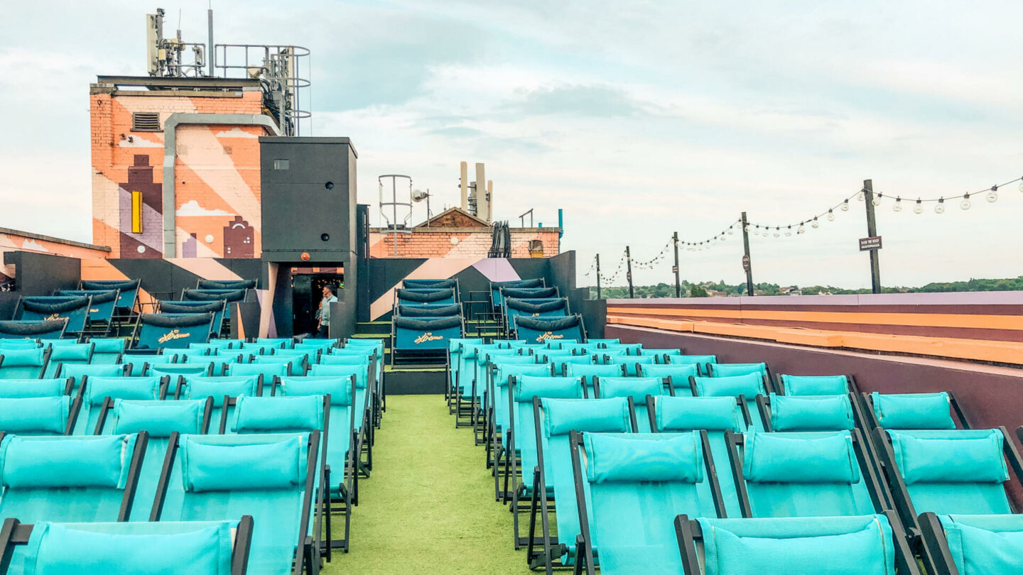 Moulin Rouge at Rooftop Film Club, Bussey Building    London