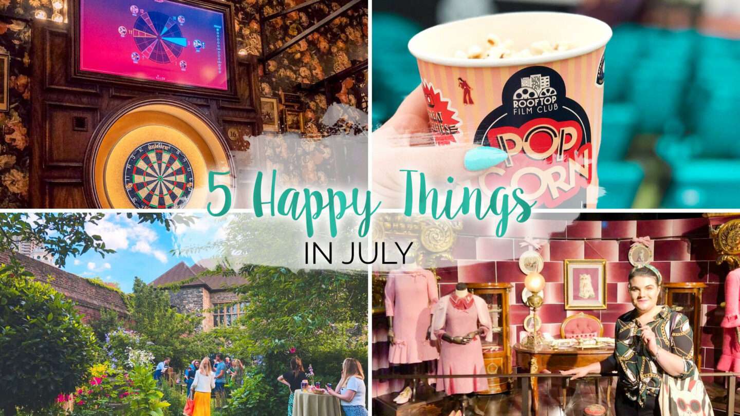 5 Happy Things - #35 - July || Life Lately