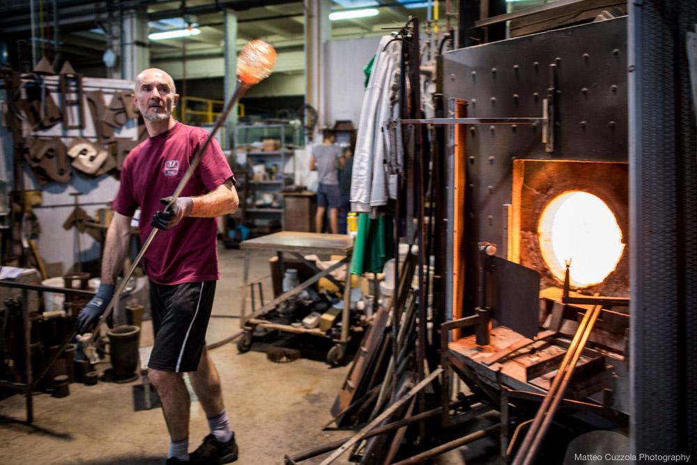 glass factory process