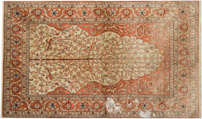 oriental rug cleaning before