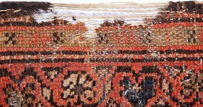 damaged rug