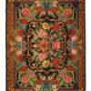 Antique Moldovian Kilim Rug, Floral design