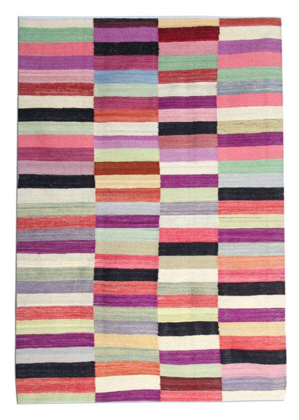 Multicoloured HAndwoven Kilim Rug