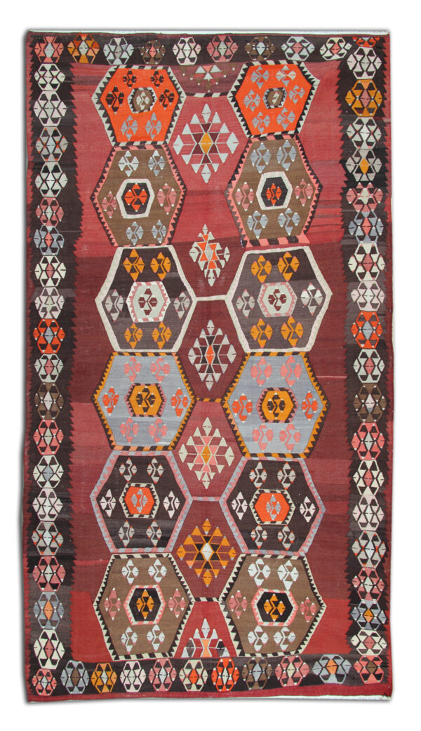 Anatolian Antique Kilim Rug