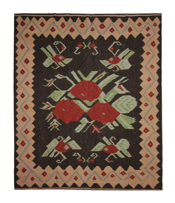Vintage Moldovan Kilim Rug