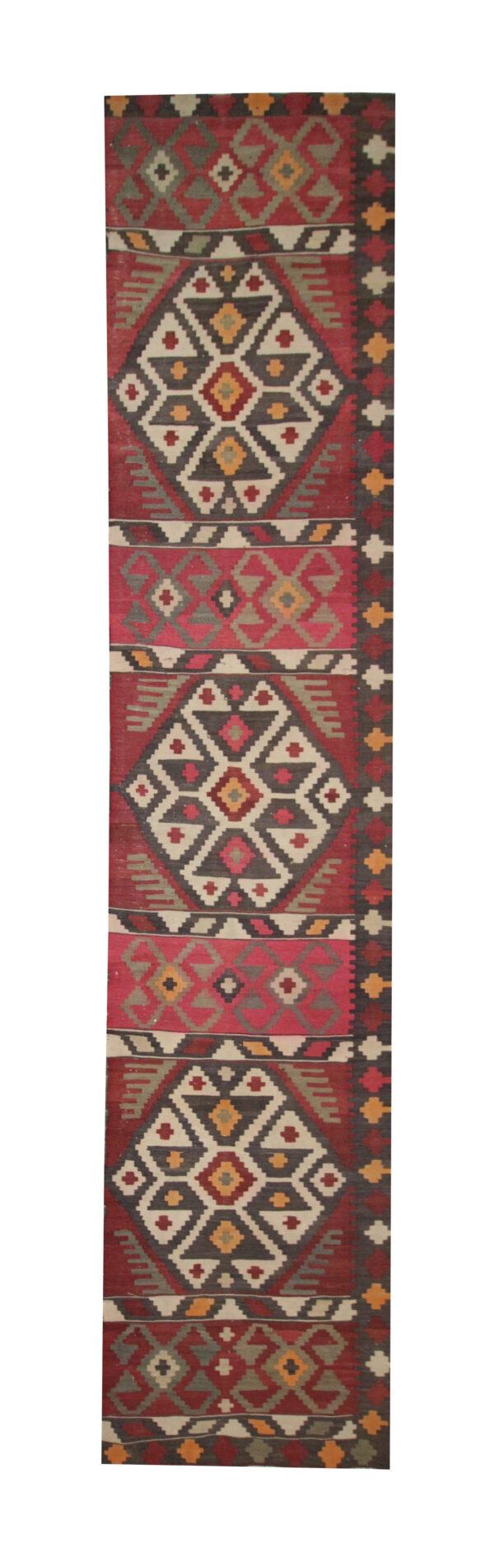 Red Persian Rug Handmade Kilim Rugs for Sale UK, Vintage Persian Carpet