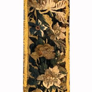 Antique Flemish Tapestry Fragment