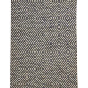 Handmade Modern Wool Geometric Kilim Rug For Sale UK