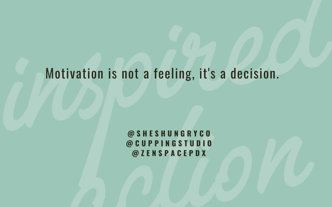 Feeling Unmotivated?: How to easily get from feeling stuck to getting started.