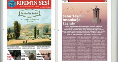 Kırım'ın Sesi Gazetesi Yayın Hayatında