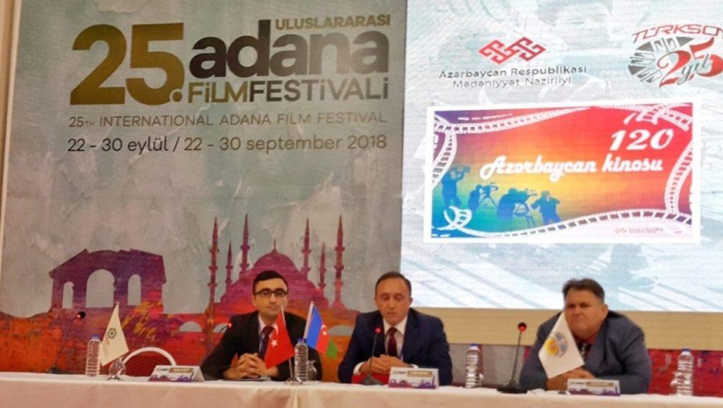 """Adana Film Festivali """"Azerbaycan Sinemasının 120. yılı"""""""