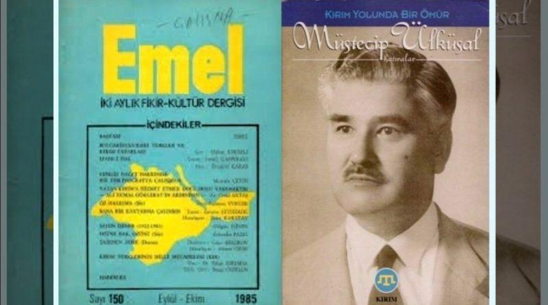 müstecip ülküsal - emel dergisi - kırım tatar