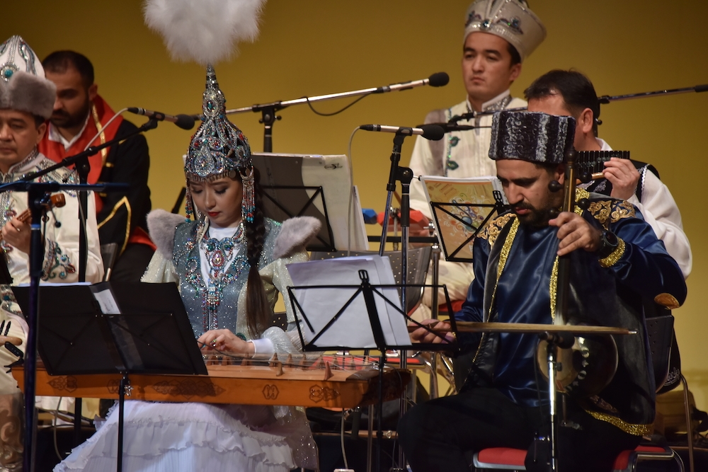TÜRKSOY Halk Çalgıları Orkestrası Japonya Turnesi Tokyo