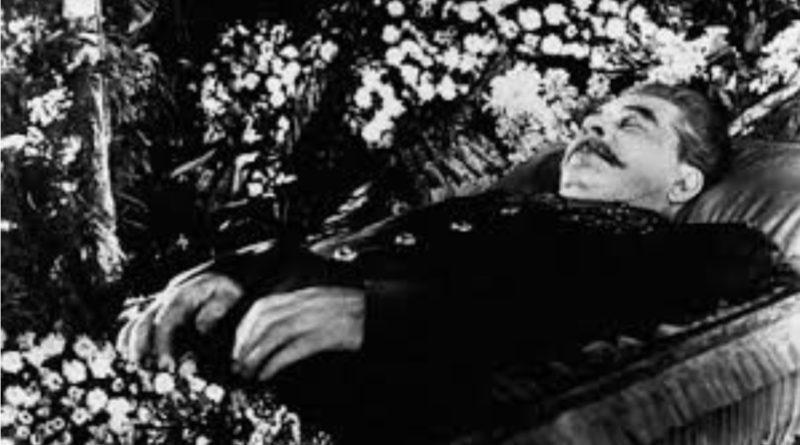Sovyetler Birliği lideri kızıl faşist diktatör stalin 5 Mart 1953 de öldü