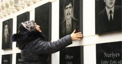 azerbaycan şehitleri