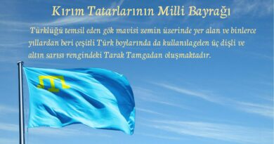 Kırım tatarların milli bayragı