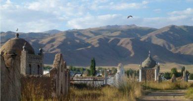 kırgızistan - oş şehri