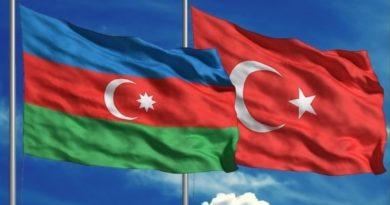 azerbaycan - türk bayrak