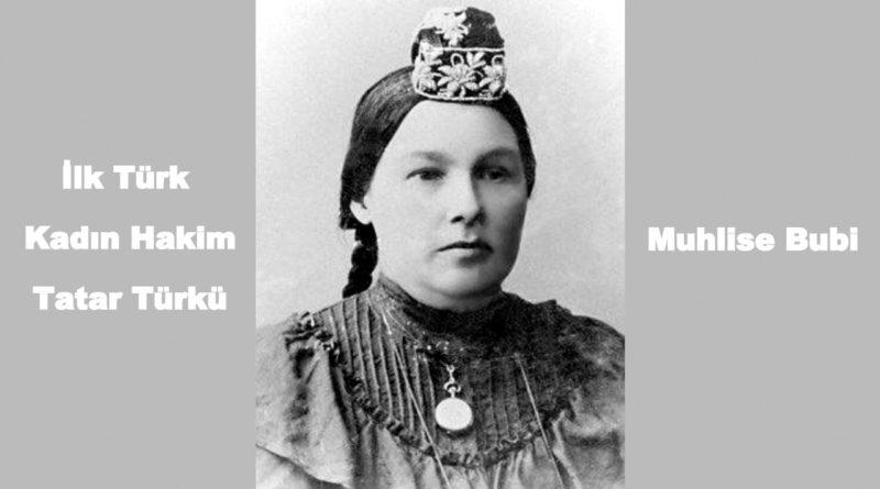 İlk Türk Kadın Hakim Muhlise Bubi