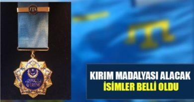 """Kırım Tatar Cemiyeti 30 Kişiyi """"Kırım Madalyasına"""" layık gördü"""