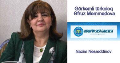 Görkəmli türkoloq, Əfruz Məmmədova