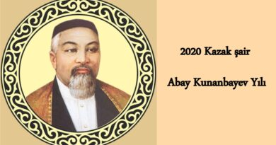 """2020'nin Kazak şair """"Abay Kunanbayev Yılı"""""""