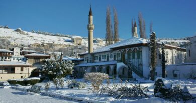 Kırım'a ilk kar yağdı