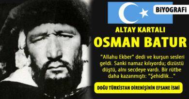 Altay Qartalı Osman Batur