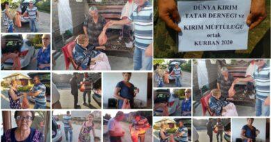 dünya kırım tatar dernegi - kırım müftülüğü kurban organizasyonu