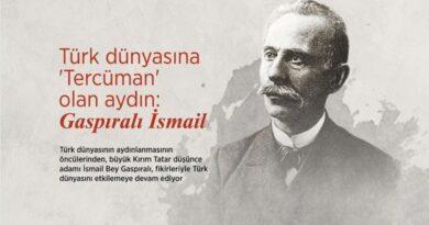 İsmail Bey Gaspıralı, 24 Eylül 1914'te Bahçesaray'da vefat etti