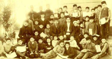 Zemski İslam Mektebi ve Şakirdanı