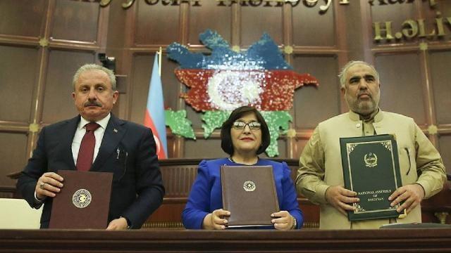 Azerbaycan-Pakistan-Türkiye  Bakü Beyannamesi'ni kabul etti
