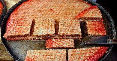 Azerbaycanlıların en sevdiği tatlı çeşidir, Şeki Baklavası