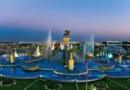 Türkmenistan'daki Oğuzhan ve Oğulları Çeşmesi, Guinness Dünya Rekorlar kitabına göre dünyanın en büyük çeşmesidir.