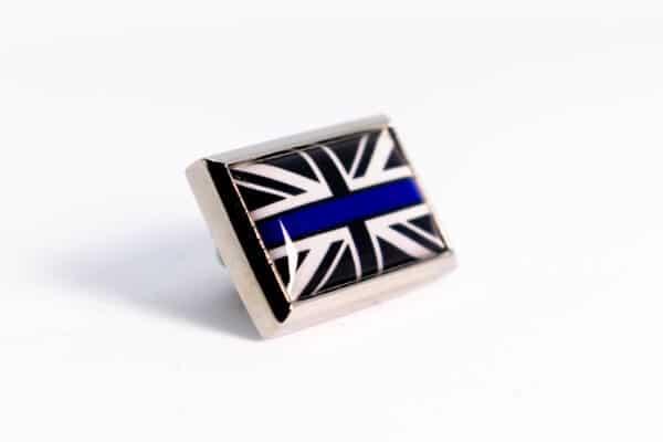 Union Flag Blue Line Badge