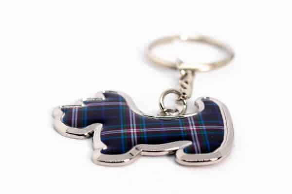 ThinBlueLineUK Scottie Dog Keyring 2
