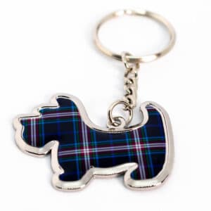 ThinBlueLineUK Scottie Dog Keyring