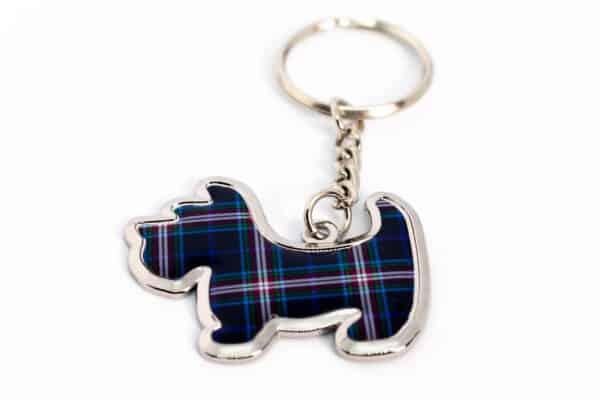 ThinBlueLineUK Scottie Dog Keyring