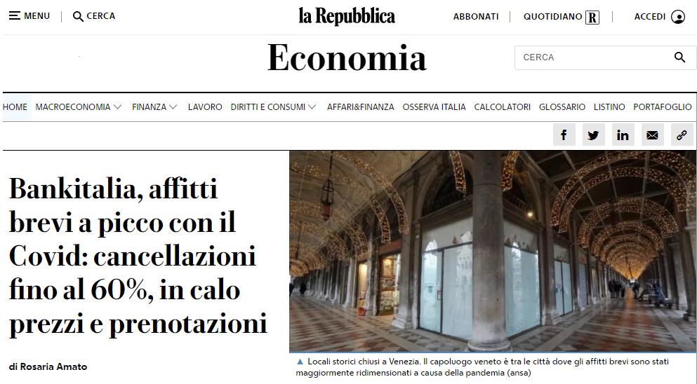 La Repubblica – 3 Feb 2021