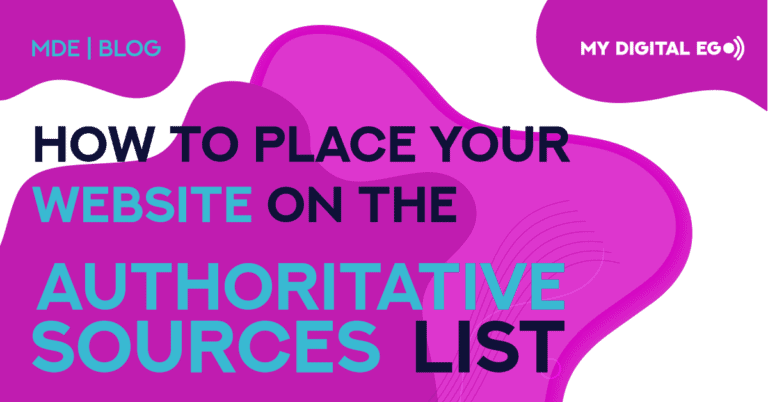 How to Place your Website on the Authoritative Sources List?